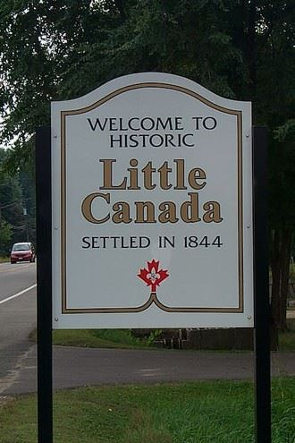 City Information Little Canada Sign