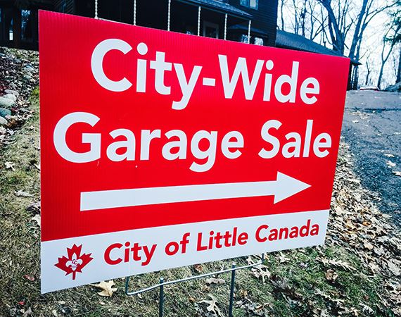 City-wide Garage Sale Yard Sign